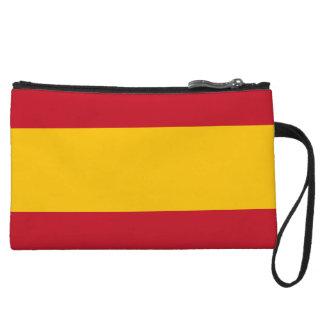 Spain Flag Wristlets Wallet