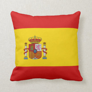 Spain Flag x Flag Pillow