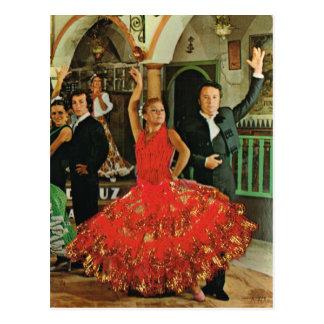 Spain, Flamenco Dancers Postcard