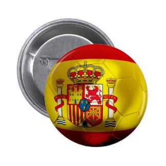 Spain Football Buttons