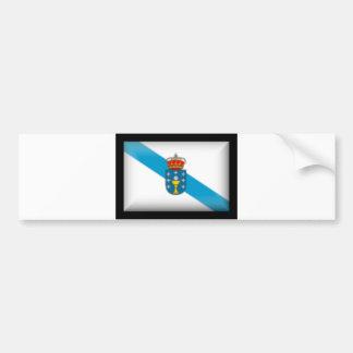 Spain Galicia Flag Bumper Sticker