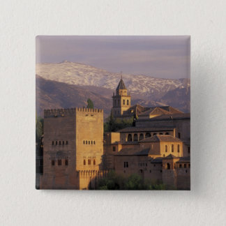 Spain, Granada, Andalucia The Alhambra, 2 15 Cm Square Badge