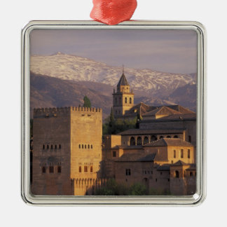 Spain, Granada, Andalucia The Alhambra, 2 Christmas Ornament