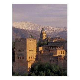 Spain, Granada, Andalucia The Alhambra, 2 Postcards