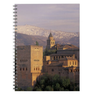 Spain, Granada, Andalucia The Alhambra, 2 Spiral Notebook