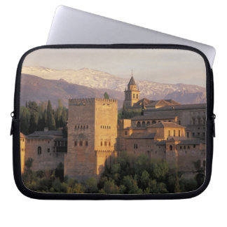 Spain, Granada, Andalucia The Alhambra, Laptop Computer Sleeve