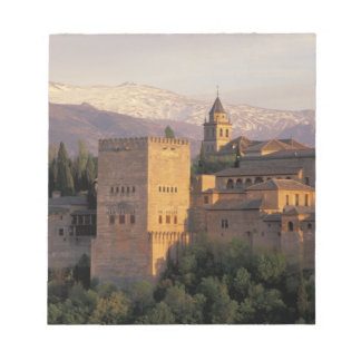 Spain, Granada, Andalucia The Alhambra, Notepad