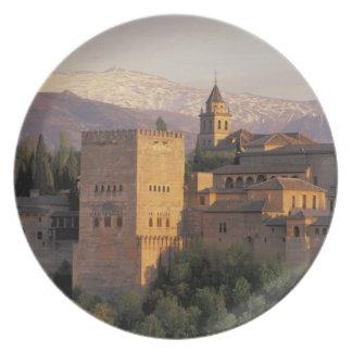 Spain, Granada, Andalucia The Alhambra, Plate