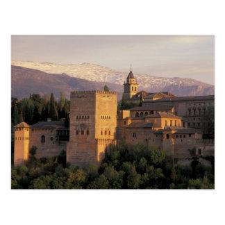 Spain, Granada, Andalucia The Alhambra, Postcard