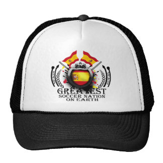 Spain Greatest Soccer Nation on Earth Hat