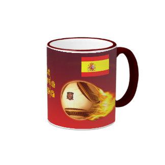 Spain La Furia Roja 2 Ringer Mug