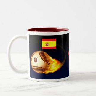 Spain La Furia Roja Two-Tone Mug