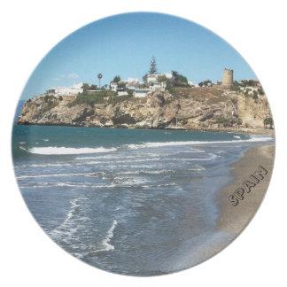Spain Landscape Melamine plate