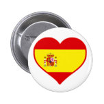 Spain Love Buttons