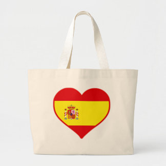 Spain Love Large Tote Bag