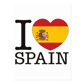 Spain Love v2 Postcards