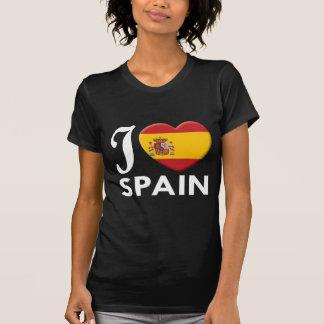 Spain Love W T Shirt