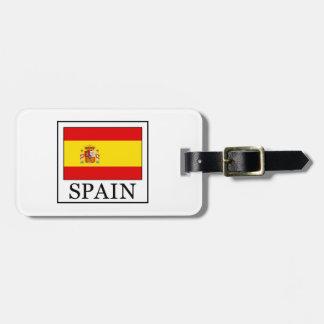 Spain Luggage Tag