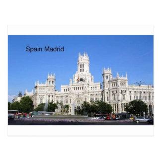 Spain, Madrid City Hall Plaza de Cibeles (St.K) Postcard