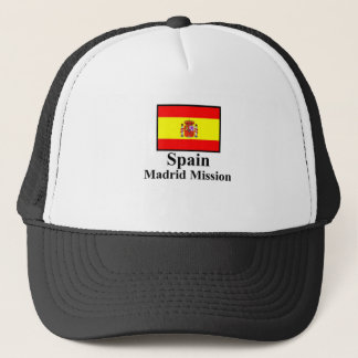 Spain Madrid Mission Hat