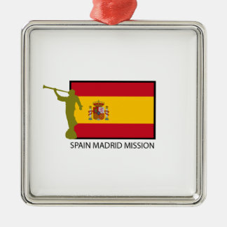 SPAIN MADRID MISSION LDS CTR CHRISTMAS ORNAMENT