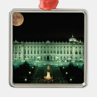 Spain, Madrid, Royal Palace and Plaza de Christmas Ornament
