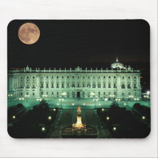 Spain, Madrid, Royal Palace and Plaza de Mouse Mat
