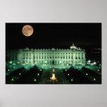 Spain, Madrid, Royal Palace and Plaza de Print