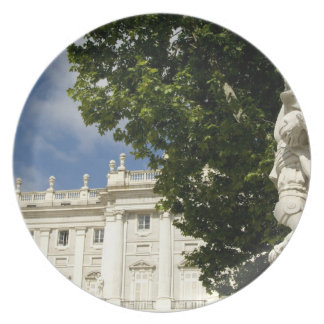 Spain, Madrid. Royal Palace. Plate