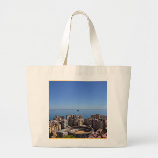 SPAIN Malaga s Plaza de Toros canvas tote bag