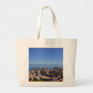 SPAIN: Malaga's Plaza de Toros canvas tote bag