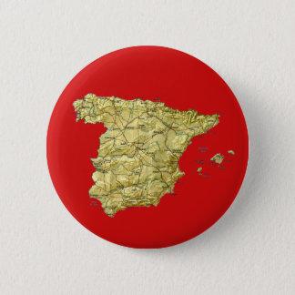 Spain Map Button