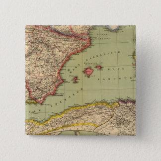 Spain, Mauritania and Africa 15 Cm Square Badge