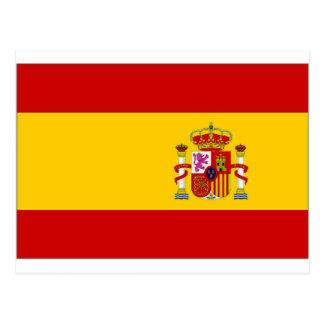 Spain Naval Jack Postcard