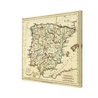 Spain, Portugal 10 Canvas Print