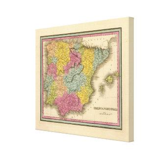 Spain, Portugal 13 Canvas Print