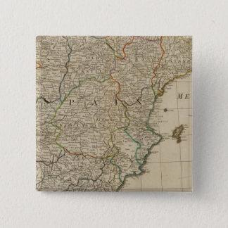 Spain, Portugal 15 Cm Square Badge