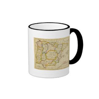 Spain, Portugal 2 Ringer Mug