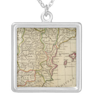 Spain, Portugal 3 Silver Plated Necklace