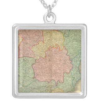 Spain, Portugal 4 Silver Plated Necklace