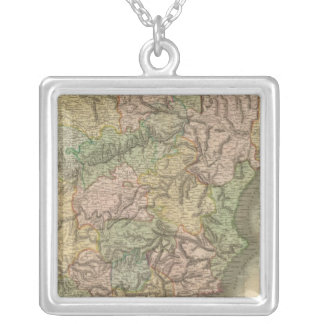 Spain, Portugal 7 Silver Plated Necklace
