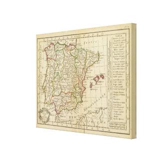 Spain, Portugal 8 Canvas Print