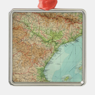 Spain & Portugal eastern section Christmas Ornament