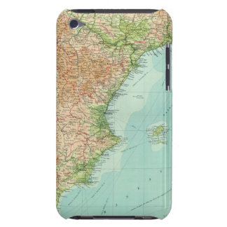 Spain & Portugal eastern section iPod Case-Mate Case