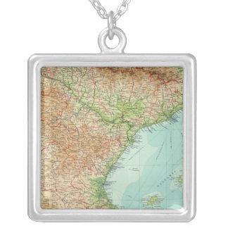Spain & Portugal eastern section Silver Plated Necklace