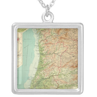 Spain & Portugal western section Silver Plated Necklace