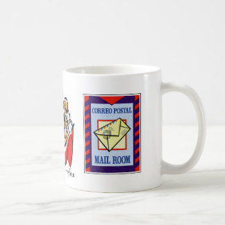 Spain, Room Mail, Postal Mail Basic White Mug
