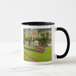 Spain, San Sebastian. Popular seaside resort, Mug