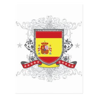 Spain Shield Post Card