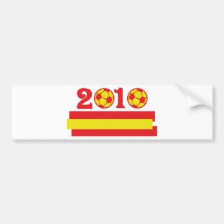 spain soccer 2010 bumper stickers